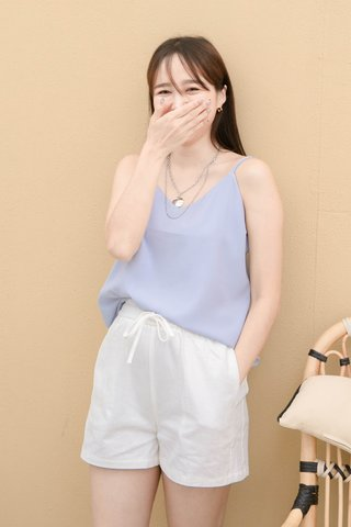 PEANUT CASUAL CAMISOLE TOP IN BABY BLUE