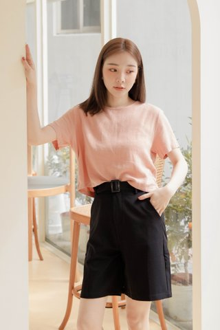 BAKED 365 DAYS KR BASIC TOP IN BABY CORAL
