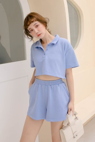 BUTTER BAKERY KOREA PULLOVER SET IN HONEY BLUE