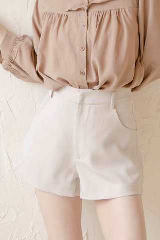 (BACKORDER S/M/L/XL) BUT SOME KR -5KG LITTLE A SHORTS IN CREAM