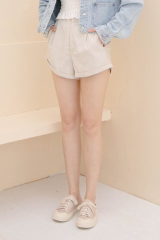 (BACKORDER XS/S/M/L/XL) VERY VELY KR -5KG SHORTS IN CREAM
