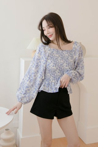 BUT HONEY KR 2 WAYS DAISY TOP IN BLUE
