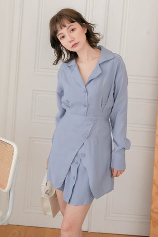 SOOH KR OVERLAP -5KG DRESS IN HONEY BLUE
